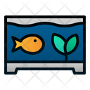 Fish Tank Pet Animal Icon
