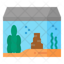 Fish Tank Aquarium Icon