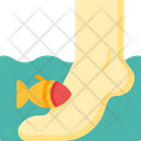 Fish Therapy Feet Fish Icon