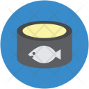 Fish Feed Product Icon