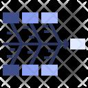 Fishbone Diagram Data Icon