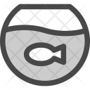 Fishbowl Fish Pot Icon