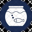 Fishbowl Glass Bowl Live Fish Icon