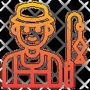 Fisherman Avatar Occupation Icon