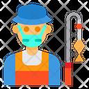 Fisherman Avatar Mask Icon