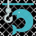 Fishing Fish Water Icon