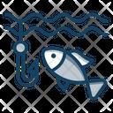 Fishing Fish Catching Fishing Rod Icon