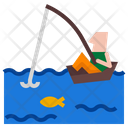Fishing Fish Outdoor Icon