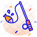 Fishing Fishing Rod Hook Icon