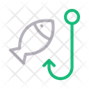 Fishing Hook Anchor Icon