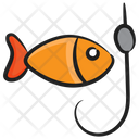Fishing Fish Catching Fishing Rod Icon