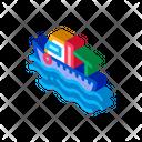 Fishing Boat Water Icon