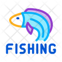 Fishing Business Process Icon