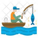 Fishing Hook Fish Icon