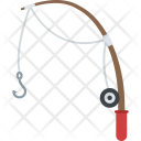 Fishing Rod Hook Icon