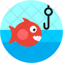 Fishing Fish Hook Icon