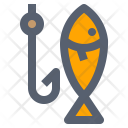 Camping Fish Fishing Icon
