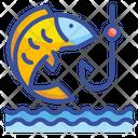 Fishing Fishing Hook Outdoors Icon