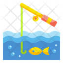 Fishing Hobby Sitck Icon