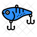 Bait Fisher Fishing Fish Hooks Icon