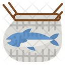 Fishing Fish Net Icon