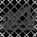 Fishing Vessel Transport Icon