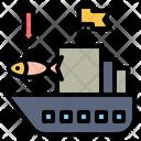 Fishing Boat Ship Boat Icon