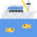 Fishing Boat Boat Fishing Icon