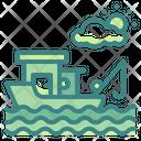 Fishing Boat Icon