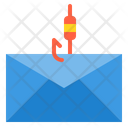 Fishing Email Fishing Email Fishing Icon