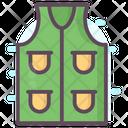 Fishing Jacket Waterproof Jacket Sleeveless Coat Icon