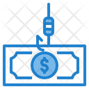 Fishing Money Icon