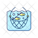 Catch Line Net Icon