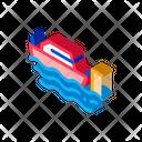 Fishing Ship Icon