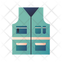 Fishing Vest Outdoor Vest Icon
