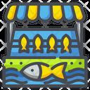 Fishmongers Market Shopping Icon