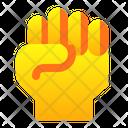 Fist Hand Gesture Icon
