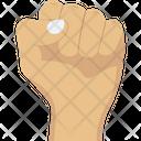 Fist Fight Hand Icon