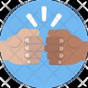 Friendship Fist Hands Icon