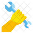 Fist Wrench Worker Icon