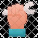 Fist Labour Hand Icon