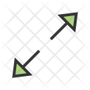 Fit To Arrow Icon