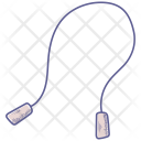 Fitness Lifestyle Rope Icon