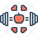 Fitness Workout Exercise Icon
