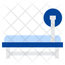 Fitness Barbell Press Icon