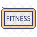 Fitness Gym Workout Icon