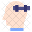 Fitness Mind Thought Icon