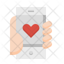 Mobile Heart App Icon