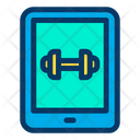 Tablet Gym Ipad Icon
