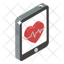 Fitness App Mobile App Healthcare App Icon